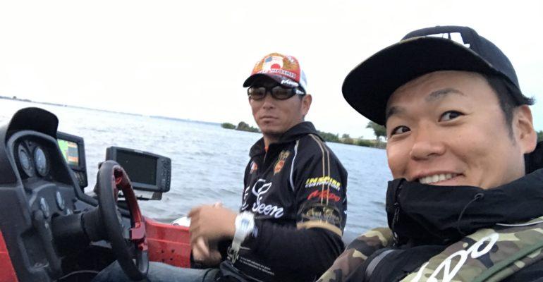 プロスタッフ小島貴さんとスタート