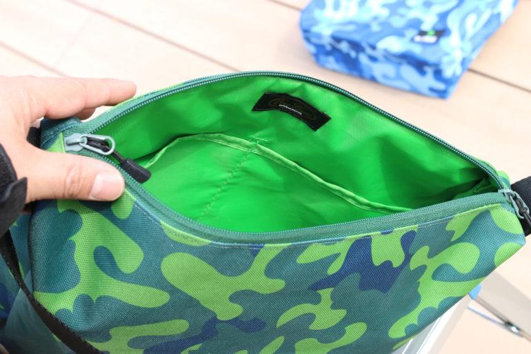 オリカモバッグの内側の色